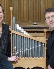 Concert d'orgue_Bagnoles-Orne_Gaëlle Coulon et Mickaël Durand