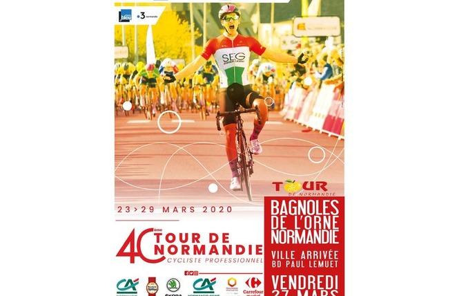 40ème Tour de Normandie Cyclisme 1 - Bagnoles-de-l'Orne Normandie