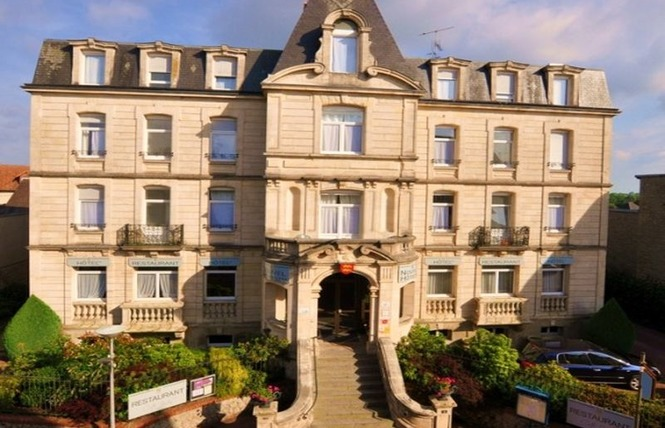 Côté Jardin - Nouvel Hôtel 1 - Bagnoles-de-l'Orne Normandie